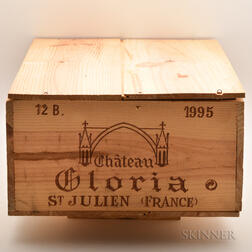 Chateau Gloria 1995, 12 bottles (owc)