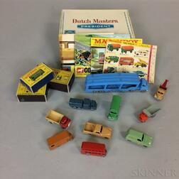 "Small Group of Lesney ""Matchbox"" Cars and Trucks"
