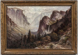 Harry Cassie Best (Canadian/American, 1863-1936)      Yosemite Valley
