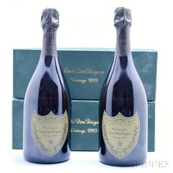 Moet & Chandon Dom Perignon 1993, 2 750ml bottles (oc)