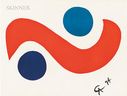 Alexander Calder (American, 1898-1976)      Flying Colors  /A Suite of Six Prints