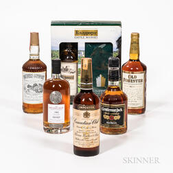 Mixed Whiskey, 1 liter bottle 3 750ml bottles 1 quart bottle 1 4/5 quart bottle Spirits cannot be shipped. Please see http://bit.ly/...