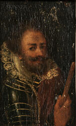 Dutch School, 18th Century    Portrait of a Dutch or Spanish Gentleman in Armor