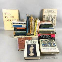 Group of Books Mostly on Chinese and Japanese Ceramics
