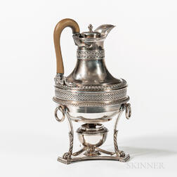 George III Sterling Silver Hot Water Jug