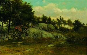 George Frank Higgins (American, 19th Century)    Rocky Clearing