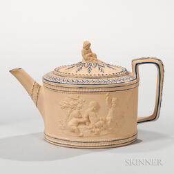 Turner Caneware Teapot and Cover