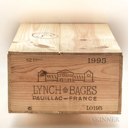 Chateau Lynch Bages 1995, 12 bottles owc