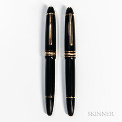 """Two Montblanc Meisterstuck """"146"""" Fountain Pens"""