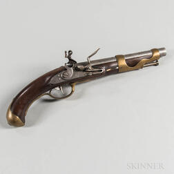 French Model 1763/66 Pistol