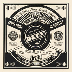 Shepard Fairey (American, b. 1970)      Luxurious Sounds