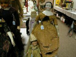 China Shoulder Head Doll and Composition Doll