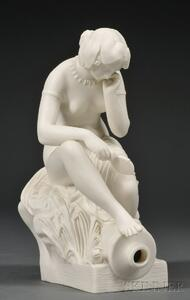 Copeland Parian Figure of River Allegory