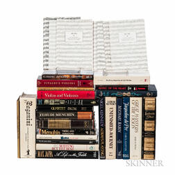 Group of Violinist-related Books