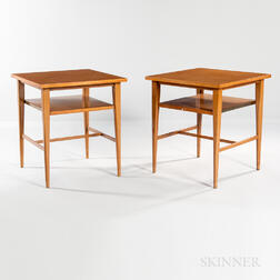Two Paul McCobb for Calvin Nightstands