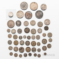 Group of 18th and 19th Century Silver Coins