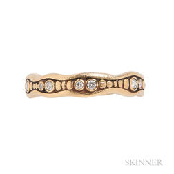 18kt Gold and Diamond Ring, Alex Sepkus