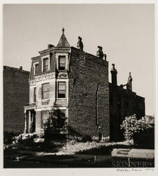 Walker Evans (American, 1903-1975)  House, Chicago, Made for the Fortune Magazine Article Chicago: A Camera Exploration (Published Fe