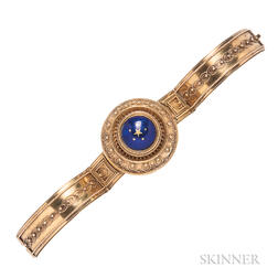 Victorian Gold and Enamel Bracelet