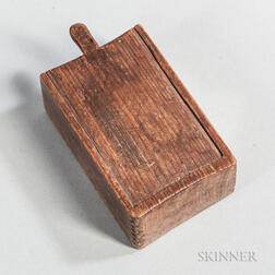 Chip-carved Slide-lid Box