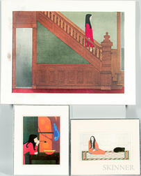 Three Photoreproductions After Will Barnet