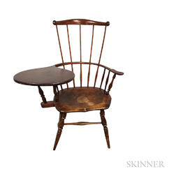 Fan-back Writing-arm Windsor Chair