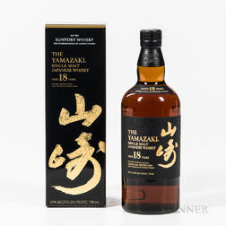 Yamazaki 18 Years Old, 1 750ml bottle (oc) Spirits cannot be shipped. Please see http://bit.ly/sk-spirits for more info.