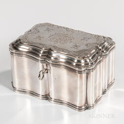 Dutch .934 Silver Tea Canister