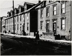 Walker Evans (American, 1903-1975)  Residences, Allentown, Pennsylvania, Probably Made for the Fortune Magazine Article People and Pla