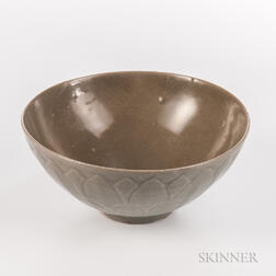 Celadon Lotus Bowl