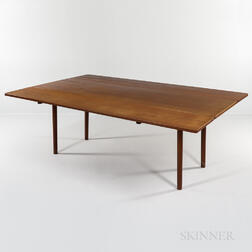 Danish Modern Drop-leaf Teak Dining Table