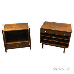 Kipp Stewart for Drexel Nightstand and Magazine Table