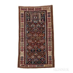 Akstafa Shirvan Prayer Rug