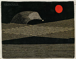 Max Ernst (German, 1891-1976)      Comète Wall Hanging