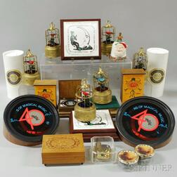 "Collection of ""Musical Box Society"" Souvenir and Other Boxes"