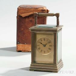 Time and Strike Carriage Clock