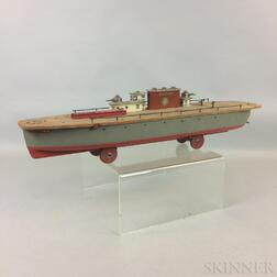Liberty Playthings Painted Wood Aircraft Carrier