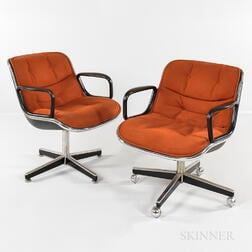 Two Charles Pollack for Knoll Task Chairs