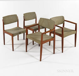 Four Bramin Danish Modern Side Chairs