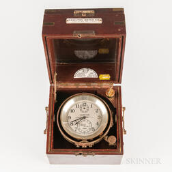 Hamilton Model 21 Two-day Marine Chronometer No. 675