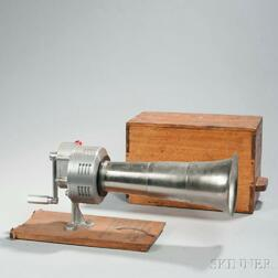 Boxed Japanese Fog Horn or Air Raid Siren
