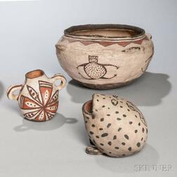 Three Southwestern Pottery Items