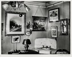 Walker Evans (American, 1903-1975)       Interior, Storrs House, Hartford, Connecticut
