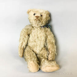Steiff Articulated Blonde Mohair Teddy Bear