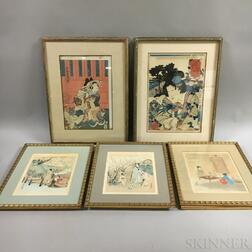 Twenty-three Mostly Woodblock Prints