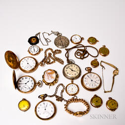 Group of Assorted Pocket Watches