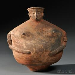 Pre-Columbian Female Effigy Vessel