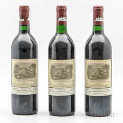 Chateau Lafite Rothschild 1989, 3 bottles