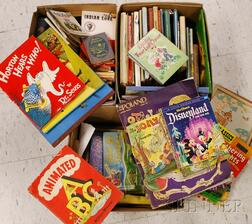 Large Group of Children's Toys, Comics, Transfers, and Related Material