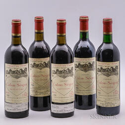 Chateau Calon Segur, 5 bottles